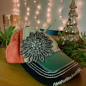 Like new rhinestone hat bought from buckle